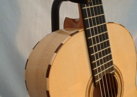 Santos Hernandez model flamenco guitar